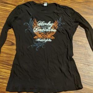 Size XL Harley Davidson shirt